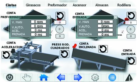 detalle pantalla paletizadora 7