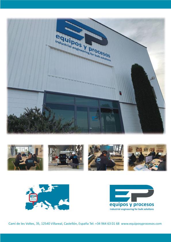 Equipos y Procesos - Fabricacion de maquinaria industrial