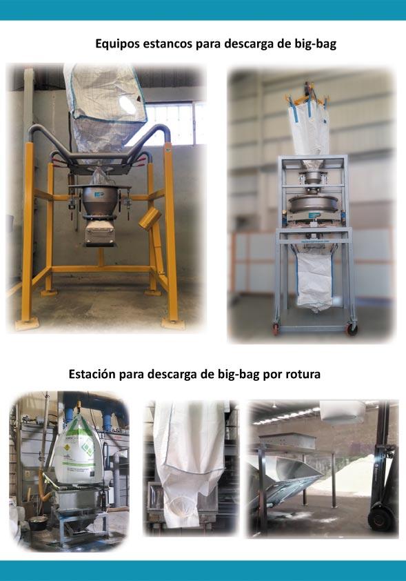 Manipulación de solidos a granel